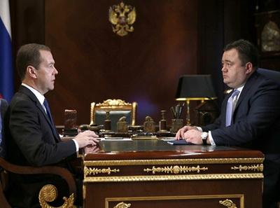 Медведев призвал развивать несырьевой экспорт изРФ