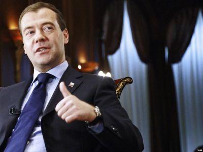 Впервом зимнем месяце фаза падения ВВП сменится фазой роста— Медведев