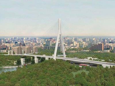 Где икогда в столице России возведут высочайший вантовый мост