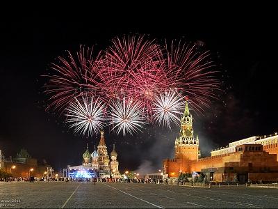 Новогодний фейерверк запустят в 3-х парках ЮВАО