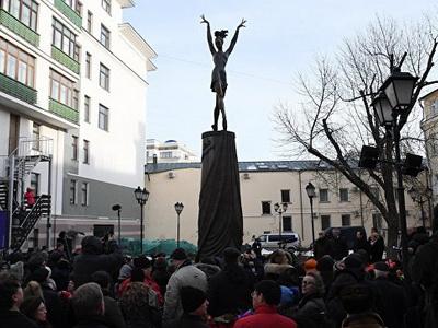 Памятник Майе Плисецкой откроется встолице вдень еерождения