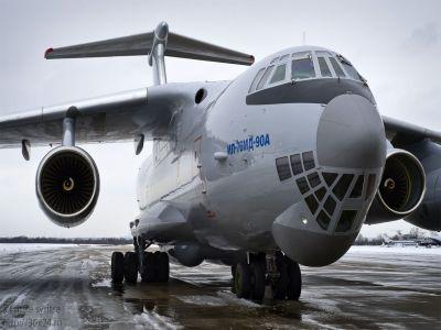 ВУльяновске впервый раз поднялся внебо модернизированный Ил-76МД-90А