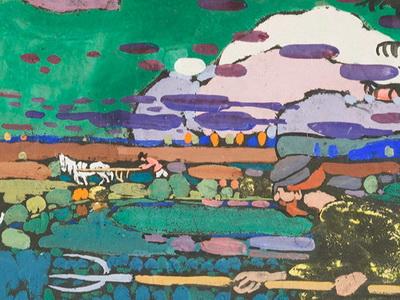 Картина Василия Кандинского «Композиция» возвращается вТюмень
