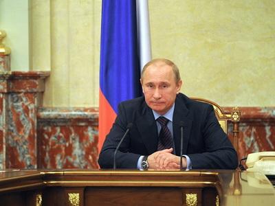 Работу В. Путина одобряют 86% граждан России