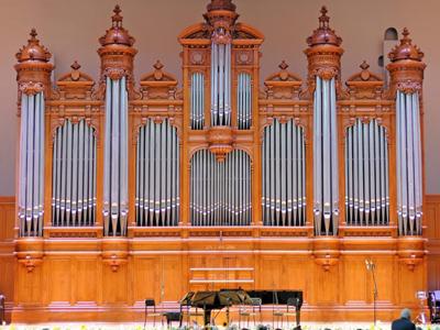 Орган огромного зала Московской консерватории вновь зазвучал после реконструкции
