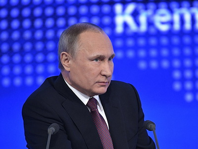 Владимир Путин: русская экономика несобирается изолироваться