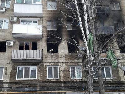 Сильный взрыв прогремел вжилом доме вСаратове— есть пострадавшие