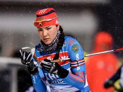 Россиянки несумели взять медали вэстафете наЧМ побиатлону