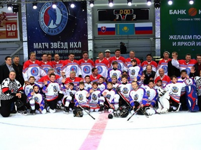 Екатеринбургский клуб стал победителем Кубка чемпионов Ночной хоккейной лиги