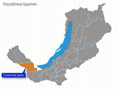 Землетрясение магнитудой 3,5 случилось вТункинском районе Бурятии