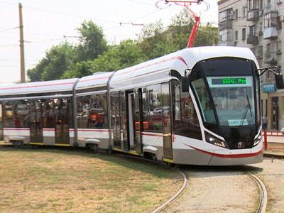 Граждане столицы оценили новые трамваи «Витязь-М»