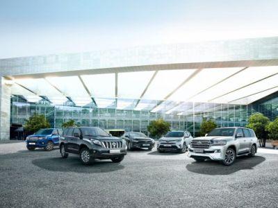 Продажи Тойота в РФ весной увеличились на18%