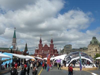 Более 500 мероприятий пройдет врамках фестиваля «Красная площадь»