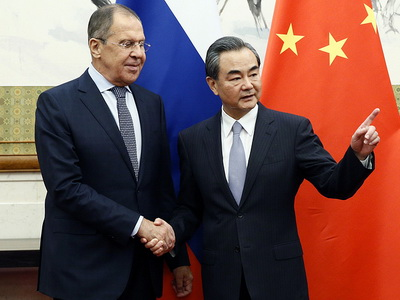 Руководителя МИДРФ иКитая проведут встречу вПекине вближайшие часы