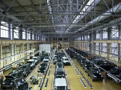 «УАЗ» снизил цены на джип Патриот в Российской Федерации