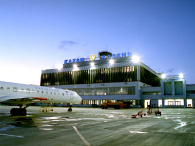 Казанский аэропорт всамом начале года обслужил неменее млн. пассажиров