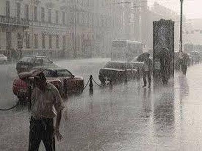 НаЮжный Урал опять придут дожди, грозы исильный ветер
