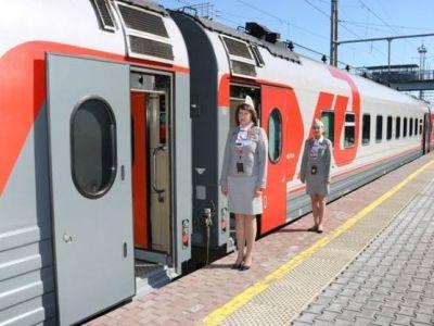ВВолгограде презентовали новые пассажирские вагоны