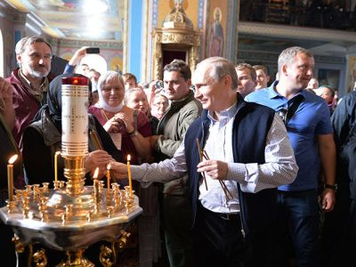 Патриарший визит наВалаам. Прибытие вВалаамский монастырь