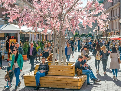 В российской столице вконкурсе цветников участвуют тысяча дизайнеров-любителей