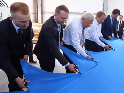 Первое врегионе производство ткани открылось под Томском
