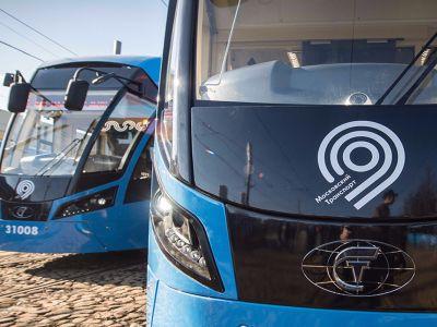 Движение трамваев откроется наплощади Тверская Застава в столицеРФ