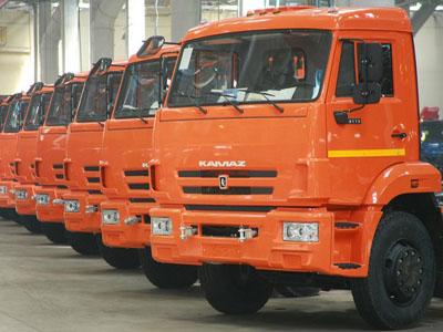 Объем русского рынка грузовиков вырос на65%