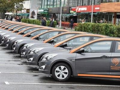 Автомобильный парк московского каршеринга увеличат натысячу авто