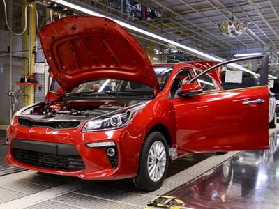 Производство авто вПетербурге выросло на27%