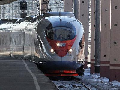 Перевозки пассажиров поездами Сапсан выросли более чем на6% в2017 году
