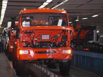 КамАЗ планирует увеличить производство на13% вконце зимы