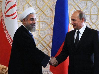Путин обсудил спрезидентом Ирана минувший съезд нацдиалога поСирии