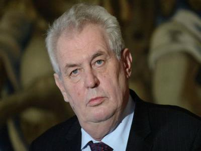 Президент Чехии признал, что вего стране производили яд«Новичок»