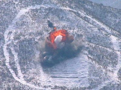 КНДР уничтожила ядерный полигон