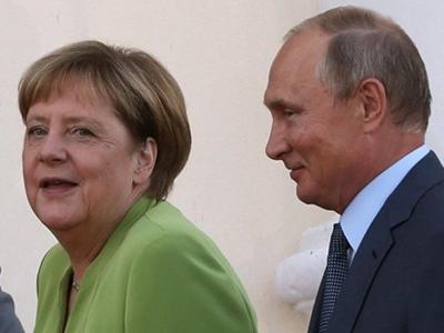 Переговоры Путина и Меркель продлились три часа