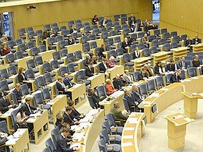 Парламент Швеции выступил против кандидатуры действующего премьера нановый срок