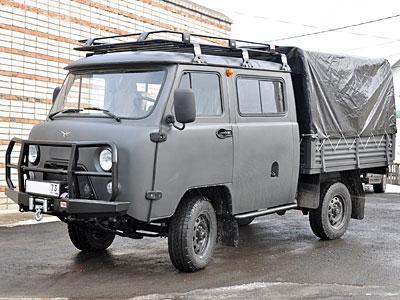 УАЗ выпустит авто для борьбы с пожарами