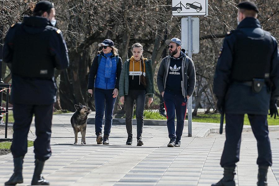 МВД заявило о случаях демонстративного нарушения режима самоизоляции