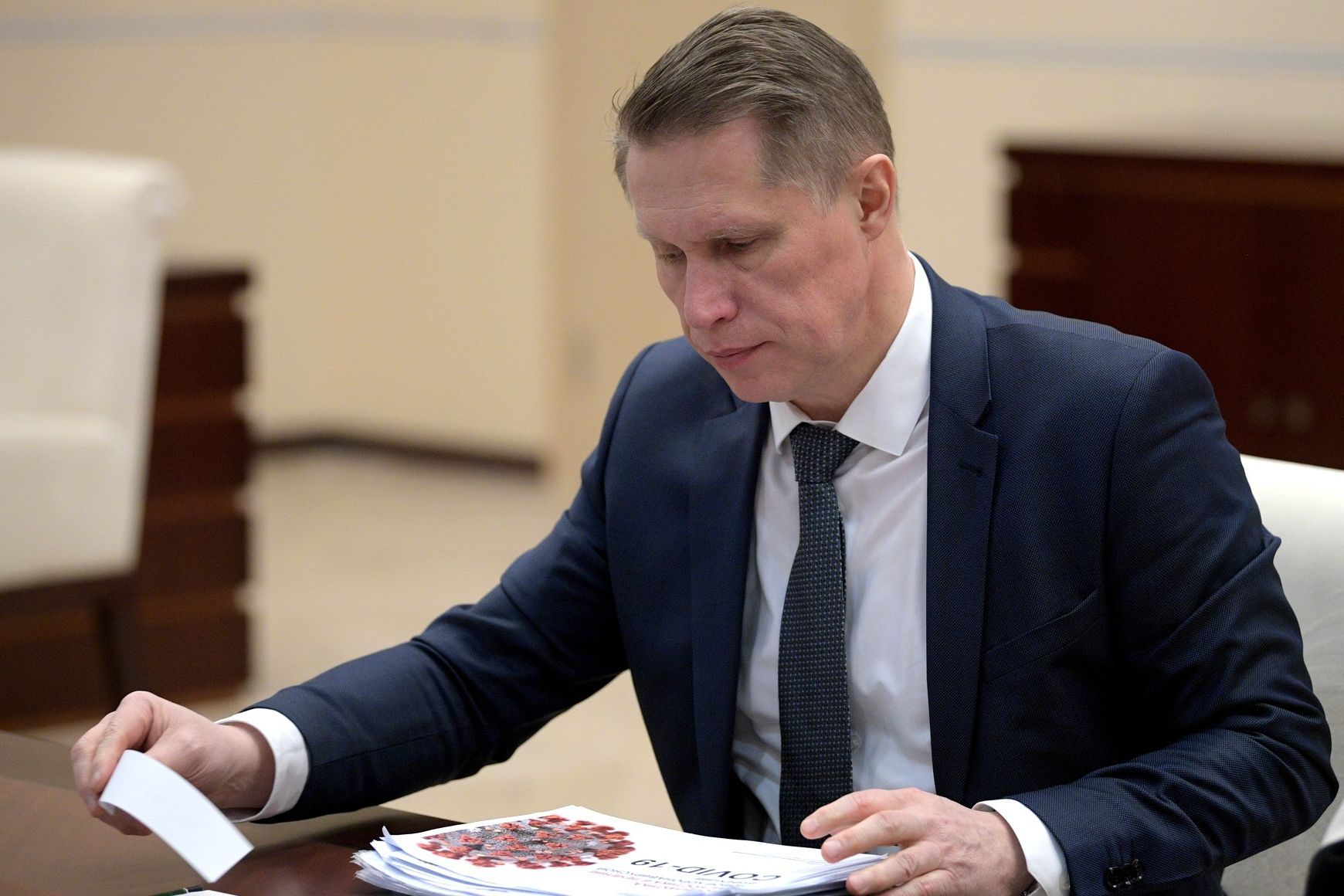 State. Russian Health Minister Said the Pandemic Will End ...