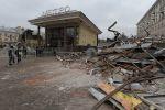 Демонтаж торговых павильонов в столице практически завершён