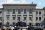 Неизвестные атаковали посольство России на Украине