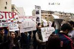 В Ереване прошли акции протеста в связи с конфликтом в Карабахе