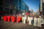 В Германии протестуют против соглашения о зоне свободной торговли с США