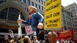 В США прошли задержания в ходе антикапиталистического марша