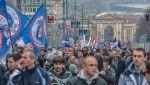 10 тыс. человек вышли на митинг в Белграде против интеграции в НАТО