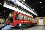 Трансмашхолдинг презентовал новый поезд метро для Петербургского метрополитена