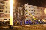 МЧС: поисково-спасательные работы в на месте рухнувшего дома будут вестись круглосуточно