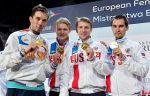 Сборная России взяла 6 золотых медалей на Чемпионате Европы по фехтованию