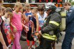 """В лагере """"Тринта"""" детям рассказали о пожарной безопасности и безопасности на воде"""