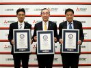 Mitsubishi Electric elevators have achieved three GUINNESS WORLD RECORDS® titles
